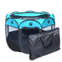 QSPT008 Outdoor Camping Hiking Play Pet Tent Portable Waterproof Dog Cat Tent Comfort Pet Dog Cat House Outdoor Picnic Travel
