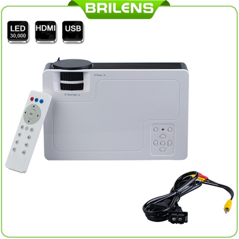 4'' Lcd Panel Small Size 2018 Best Selling Products Video Brilens Mn800 Led Hd Projector