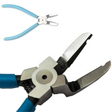 Draagbare Blue Metal Car SUV Klinknagels Diagonaal Tang Fastener Cutter Removal Puller