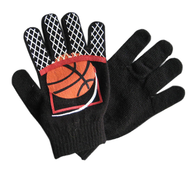 Fashion Custom Basketbal Knit Sport Handschoenen
