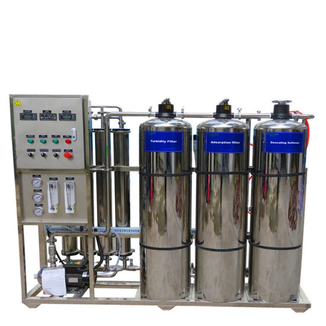 Reverse Osmosis Water Filter <strong>Filtration</strong> System 1000L per hour industrial ro water treatment plant price