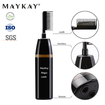 Easy Black Wholesale Healthy and Non Allergic Magic Comb Hair Dye for both Woman and Man container hair dye