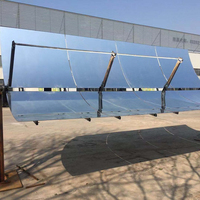 Customized parabolic trough solar thermal collector