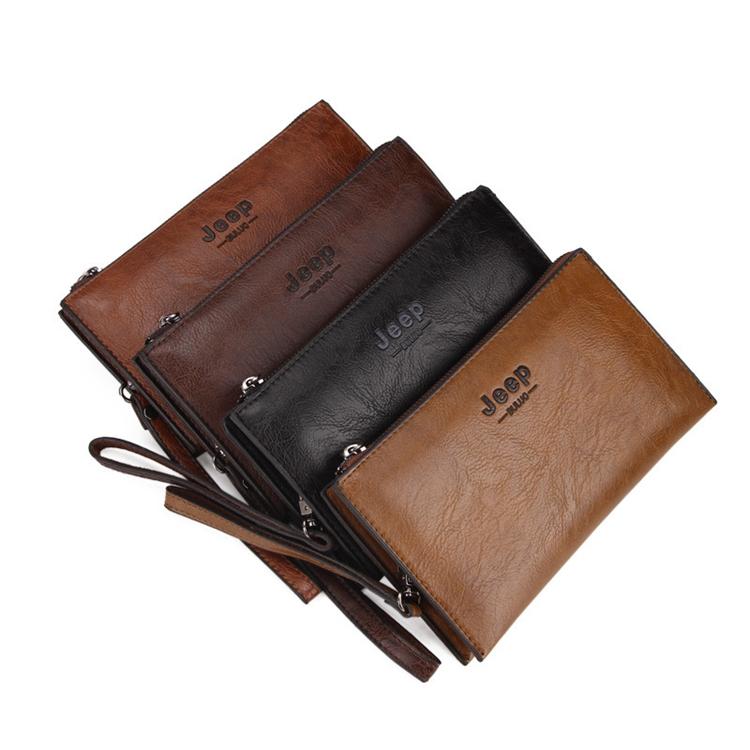 Neue Mode Brieftasche männer Lange Handtasche Tasche Standard-Zipper Männer Brieftaschen Geldbörse