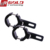 GOLDRUNWAY RH-D0306 Universal Black 0.9-1.4 Inch/ 24-35mm motorcycle mounting handlebar clamp kit Motorcycle bar clamps