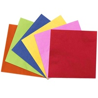 Solid Color Raw Materials Paper Napkin Disposable