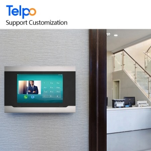 10-Inch IP Indoor Monitor Telpo Video Doorbell Camera Cell Phone Intercom Door Opening System