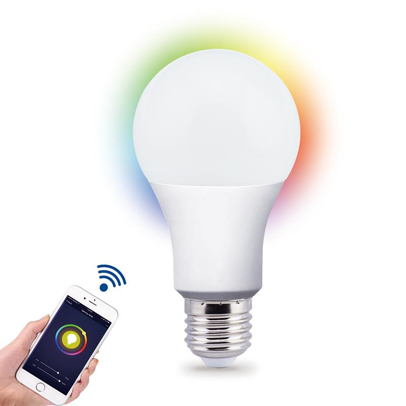 Wifi Led Lamp Smart Lamp RGBW Timing Google Energiebesparing Licht 10W 1050lm Google Alexa