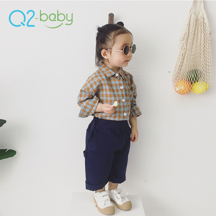 Q2-baby 2019 New Products Fashion Infants Apparel Thin Baby Cotton Summer Pants