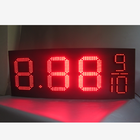 12'' 15'' 18'' 20'' 22'' 24'' outdoor 7 segment led display 8.889/10 for gas station price signs red green yellow white