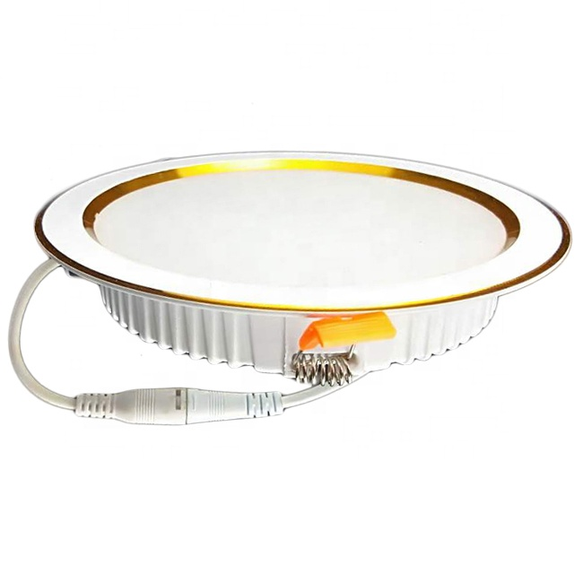 8 Inch 30 Watt 30W 3000 Lumen Embedded IC Rated IP20 LED Commercial High Lumen Slim Downlight SMD LED 35W 120 Degree Beam Angle