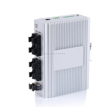 24 V 8 Puerto Industrial Ethernet switch gestionable