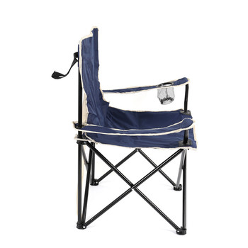 Outdoor Camping Portable  600D PVC Beach Metal Foldable Chair