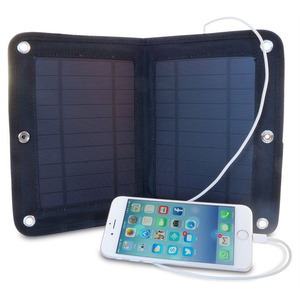 Solar Panel Power Bank High quality Solar Charger Foldable Solar Power Bag in USB Travel Charger