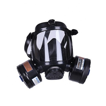 NBC army full face gas mask military