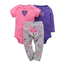 046cd3fabd Recién Nacido chico chica 3 pack ropa de niños ropa de mono pantalón Carter  ropa de