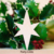 Wood Star Pieces Tree Hanging Merry Christmas Tree Ornaments Xmas Party Decoration Gifts