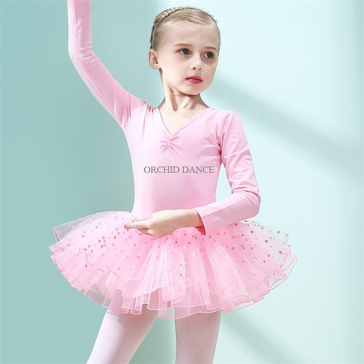 86b6f0f9a0 Venda quente Crianças Baratos Meninas Rosa Desgaste Desempenho Trajes de Balé  Crianças