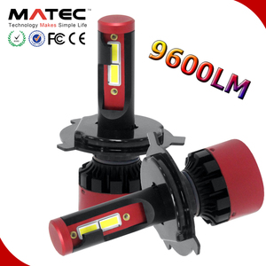 Auto parts, h4 led car headlight accessories G20 G5 C6 lamp kit bulb cob led 12v 24v 40w 80w 6000k 9004 h7 h11 led headlight h4