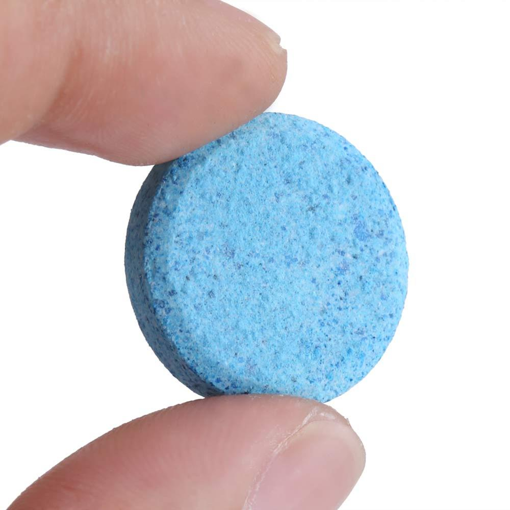 Car Windshield Glass Washer Cleaner Effervescent Tablets Detergent Car Window Cleaning Tool Screenwash