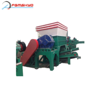 High quality scrap tyre shredded for rubber granules cutting machine