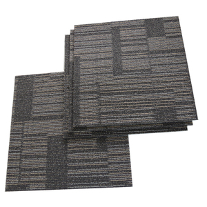 Waterproof square carpet high traffic 50x50 office carpet tiles