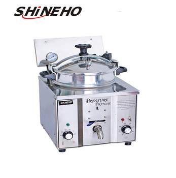 P001 Small electric commercial/table top Industrial/deep fat fryer