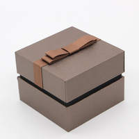 Ring Paper Box Hot Stamping Gold Foil Jewellery Box Paper Octagonal colorful with logo printed