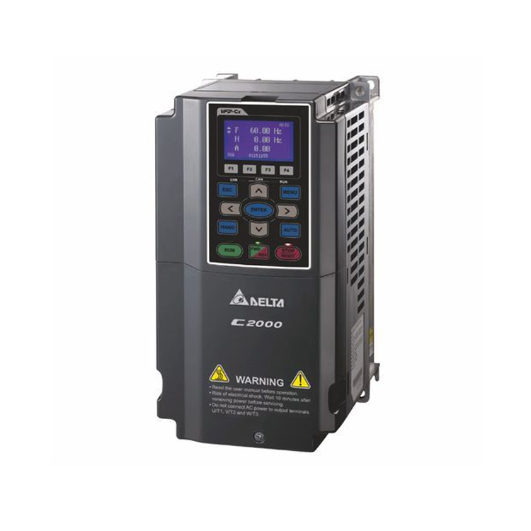 Delta Ac Motor Drive Inverter VFD1100C43A Vfd-C2000 3 Phase 380 v 110kw 150hp 220A entraînement à fréquence variable