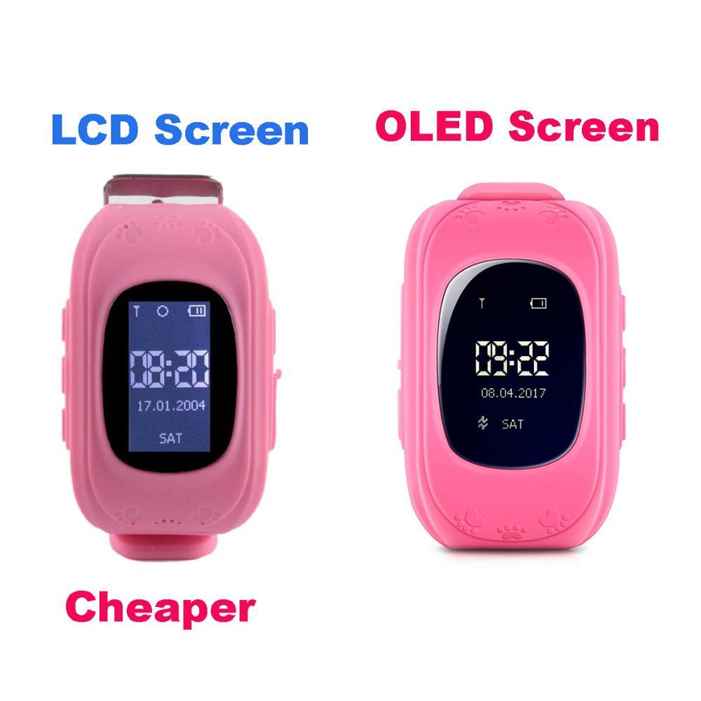 Q50 Kids GPS Watch For Kids GPS Tracker Smartwatch Android Smart Watch Cheap SOS Panic Button Child Smart Watch GPS