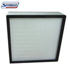 Mini-pleat medium efficiency F7 F8 F9 box air filter for HVAC system