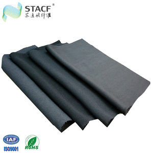 activated carbon non woven fabric air filter media roll