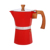 high quality Aluminum stove top espresso maker with wooden handle