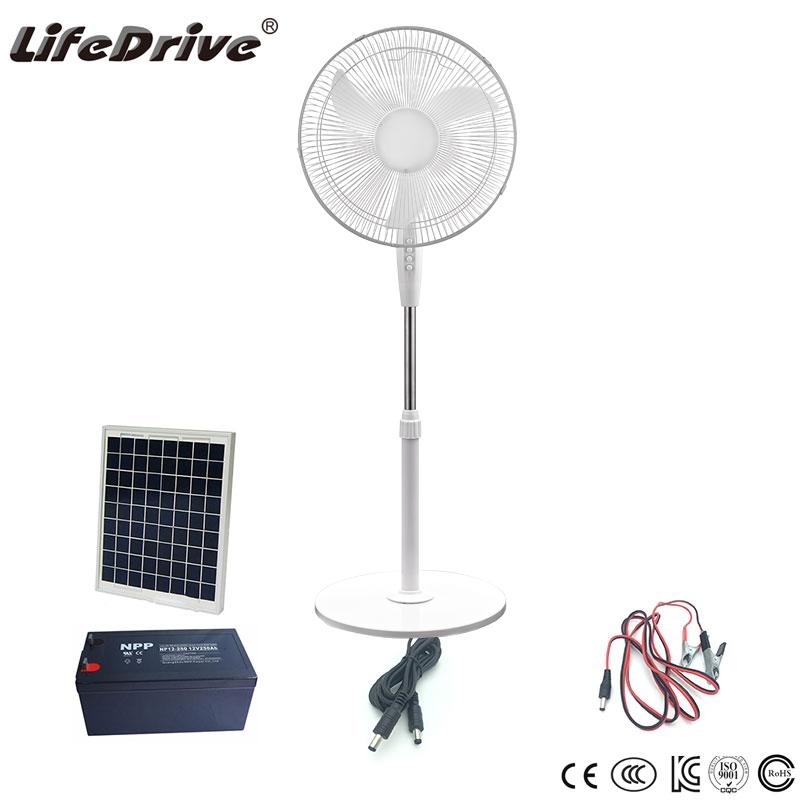 Solarlüfter Kit Fresh Breeze Schwarz