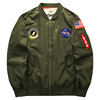 Men Air force one large size Military flight jacket with wholesale price