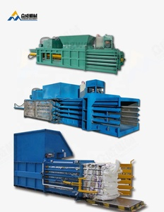 highly recommend automatic hydraulic press corrugated cardboard baling machine horizontal baler for waste carton paper scrap