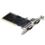 PCI riser card 2 seriale RS232 DB9 port adapter scheda di controllo desktop di accessori per computer di carta con ASIX 9865 circuito integrato