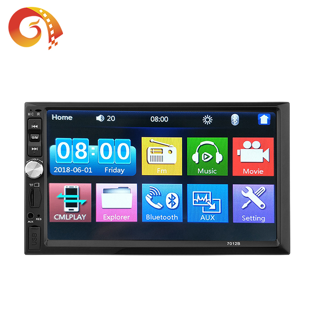 Universal Android Double Din Mobil Stereo HD Mobil Mp5 Pemain