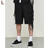 Wholesale mens gym shorts striped cargo shorts summer men short jogger sweat pants
