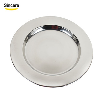 Wedding Charger Plate Stainless Steel Eco Friendly 12/13/14 Inch