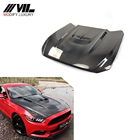 Carbon Fiber Auto Bonnet Engine Hood for Ford Mustang 2015-2017