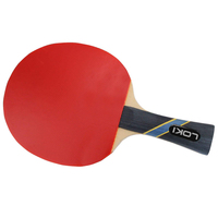 LOKI Customized hot selling cheap price professional ping pong paddles table tennis racket set