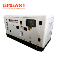 ATS enabled 20kva silent diesel generator set with auto transfer switch, 2 phase or 3 phase Groupe Electrogene