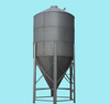 Feed storage poultry chicken animal feed silo feed tower animal equipment silo use for sow pig cage