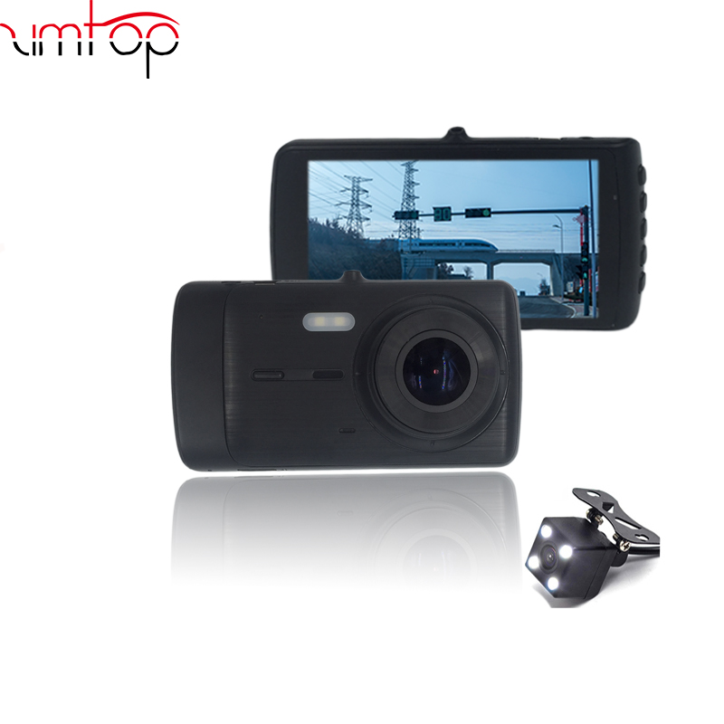 Zimtop JL5401+Sony307 Dual camera lens 4.0 inch 1080p driving recorder car camera G-sensor car dash cam