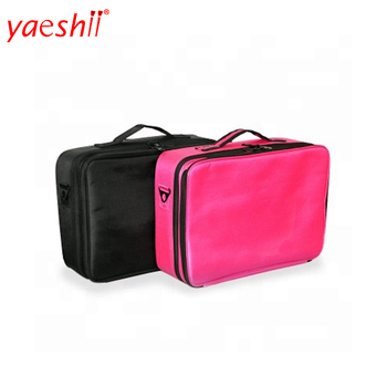 Yaeshii 2019 professional mini travel canvas makeup bag brushes makeup bag