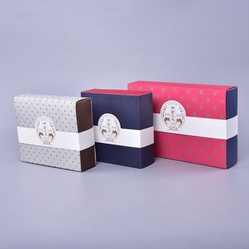 Tea Gift Carton Cosmetics Box Packaging Box Customization of High-end Food Gift Box