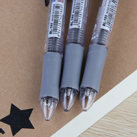 Promotional multicolor clear peculiar plastic ball pen ballpoint