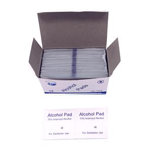Disposable Medical alcohol swab Use 70% Isopropyl Nonwoven Alcohol Prep Pad For Disinfection Use