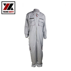American Welder Clothing Cotton Nylon 8812 FR Coveralls Suit Used in Metallurgy